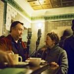 John Butcher and Karen Brookman chatting it up
