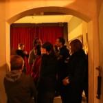 Intermission mingling